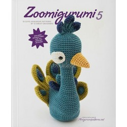 Zoomigurumi 5, 15 søde dyr - 13 -32 cm, engelsk