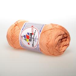 Mayflower Cotton 8 junior farve 1497 lys laks/hudfarvet