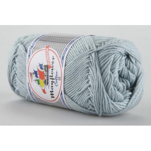 Mayflower Cotton 8 farve 1440 lysegrå