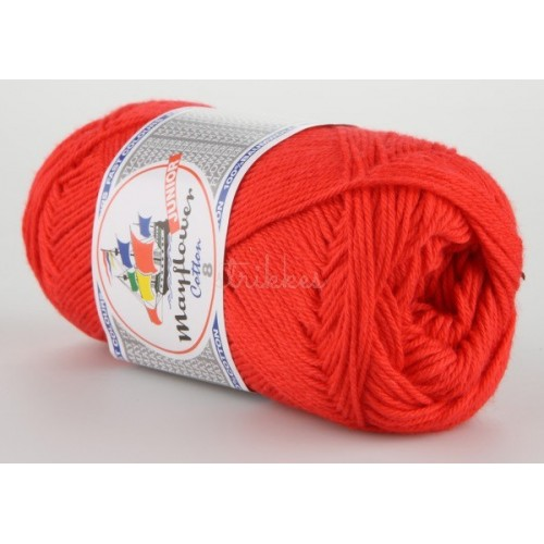 Mayflower Cotton 8 farve 1411 rød