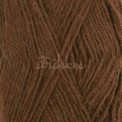 Drops Alpaca UNI farve 403 mellembrun
