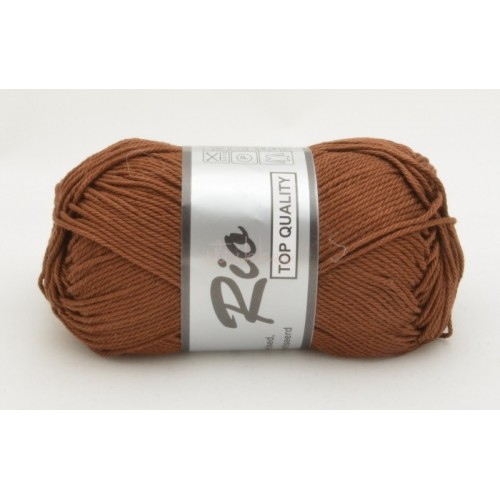 Lammy yarns Rio 110 chokoladebrun