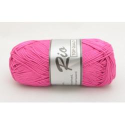 Lammy yarns Rio 014 mørk pink