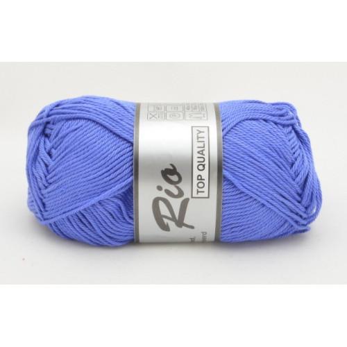 Lammy yarns Rio 022 jeansblå
