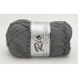 Lammy yarns Rio 002 grå