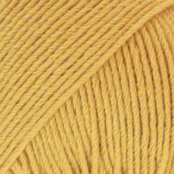 Drops Cotton Merino UNI farve 15 sennepsgul