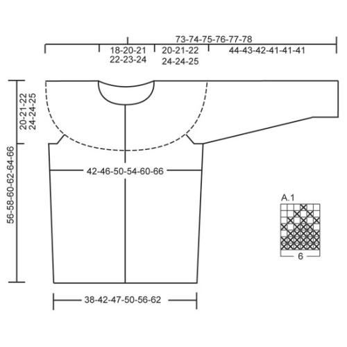 Joyride Cardigan by DROPS Design S-XXXL DROPS KARISMA