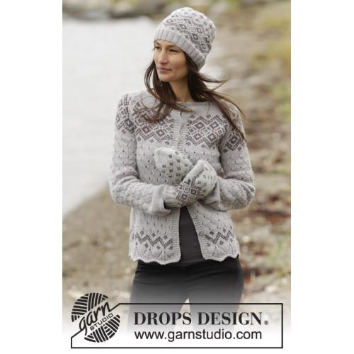Winter Melody Cardigan by DROPS Design S-XXXL DROPS LIMA