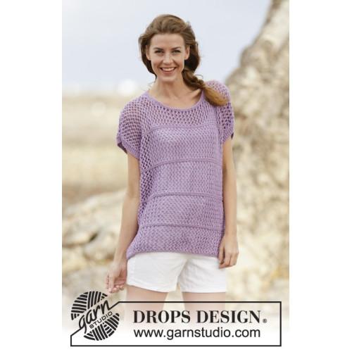 Wonderful Iris by DROPS Design S-XXXL DROPS BIG MERINO