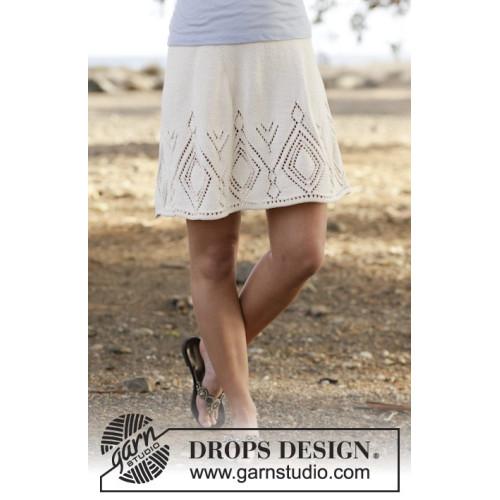 White Diamond by DROPS Design S-XXXL DROPS MUSKAT