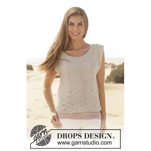 Amanda by DROPS Design XS-XXXL BOMULL-LIN