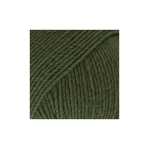 Drops Cotten Merino UNI farve 22 mørk grøn