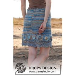 Blue dream by DROPS Design S-XXXL DROPS FABEL
