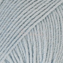 Drops Cotton Merino UNI farve 09 isblå