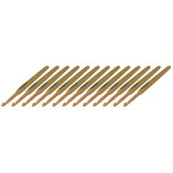 Clover Soft Touch sæt, 2-2,25-2,5-2,75-3-3,25-3,5-3,75-4-4,5-5-5,5-6mm, 13 nåle